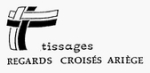 logo association Tissages/Regards croisés/Ariège